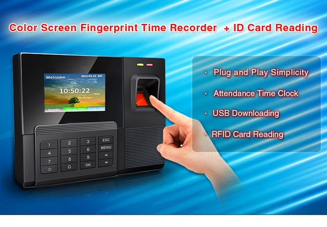 payroll system using biometric technology for