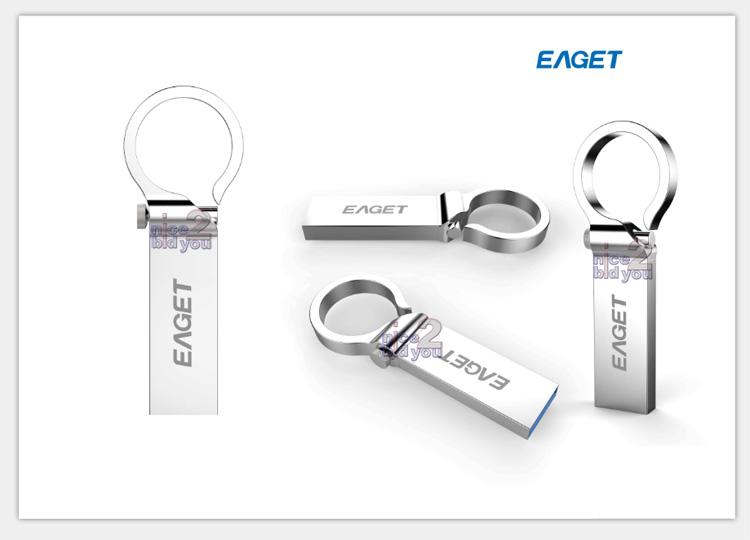 eaget u96 usb 3 0 32gb metal flash drive memory storage 32g waterproof key ring
